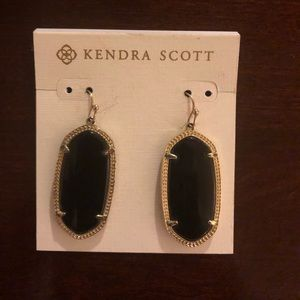 Black small Kendra Scott Earrings
